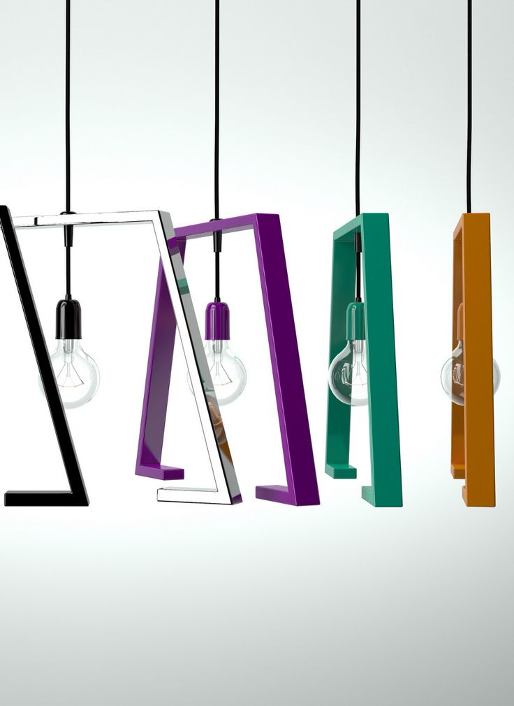 Painted metal pendant lamp BERLINE by Altinox Minimal Design @altinox