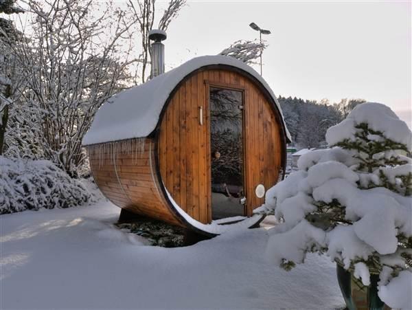 Badefass 160 HotTub Badetonne Badezuber Badebottich Sauna in Tagelswangen kaufen bei ricardo.ch