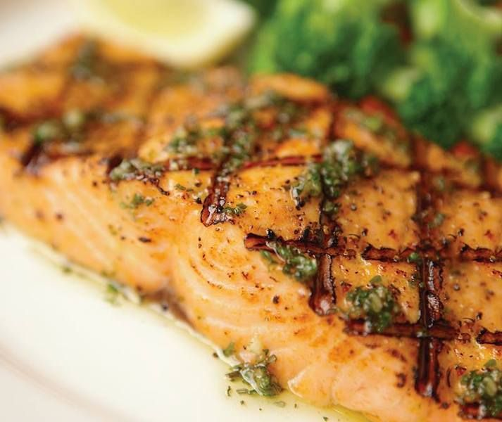 Herb Grilled Salmon From Olive Garden In Seattle Southside. | I Want To EAT  That! | Pinterest
