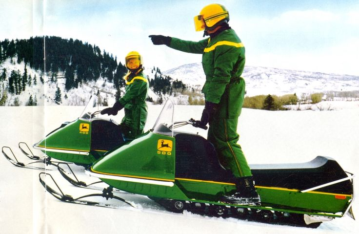 Did You Know...John Deere Designed and Built Snowmobiles? John Deere designed and built snowmobiles from 1972 -1984. It was produced by John Deere Horicon Works of Horicon, Wisconsin. At that time, production would shift between the snowmobiles and lawn & garden equipment, based on the season.