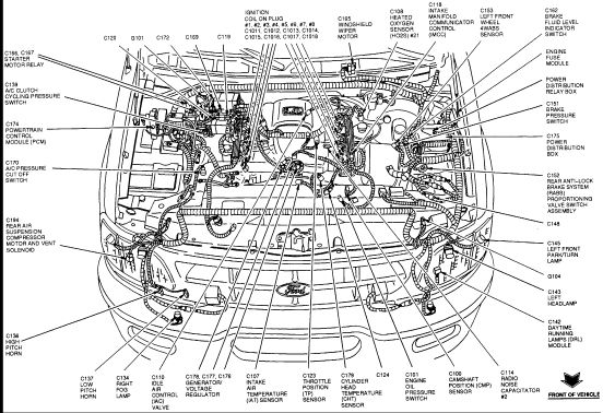 ford f150 engine diagram 1989 f150 engine component