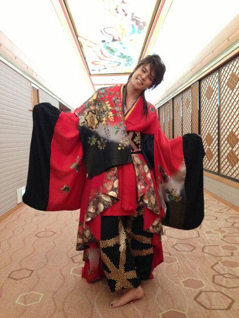 赤い着物 | 宮野真守公式ブログ