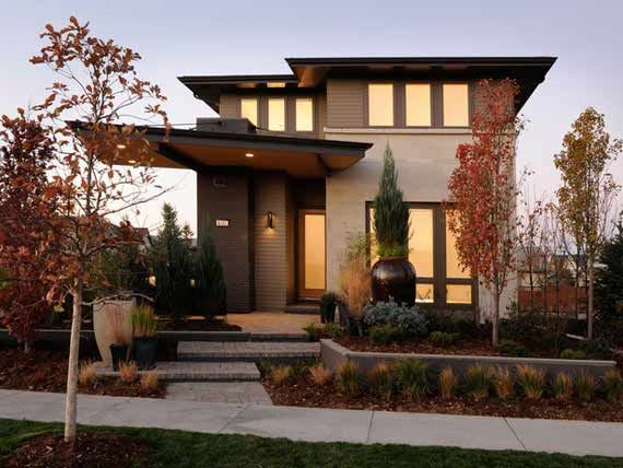 contemporary home design | Contemporary style plans refer to unique house plans and modern home ...