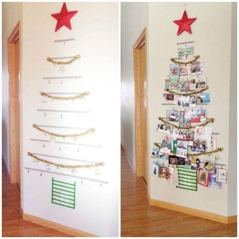 Christmas card display idea