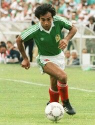 Hugo Sanchez, Mexico.