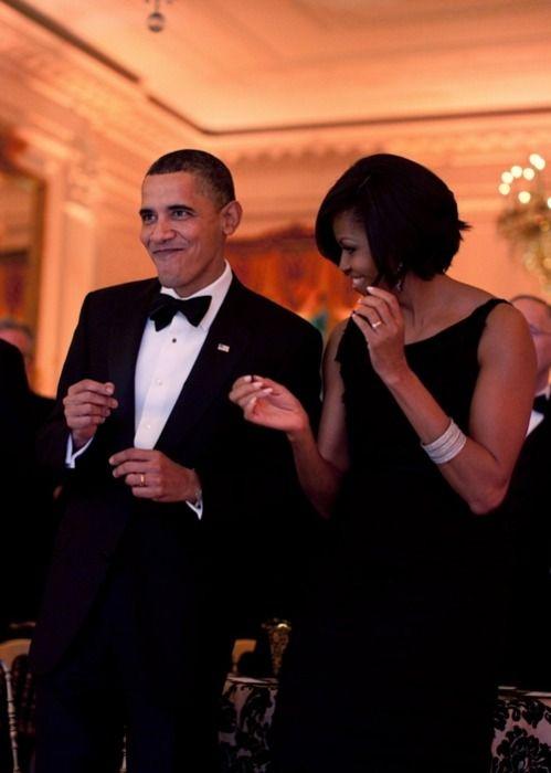 Barack Obama & Michelle Obama