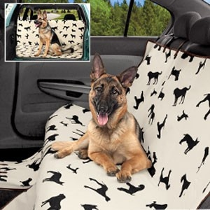 paw prints pet seat cover paw print pet seat cover keeps car interiors and sofa upholstery. Black Bedroom Furniture Sets. Home Design Ideas