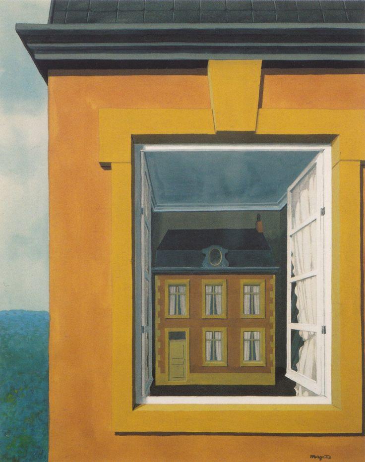 Rene Magritte - - - Eloge de ladialectique / Lof van de dialectiek (1936) - Aquarel - Private Collection +++ (043)