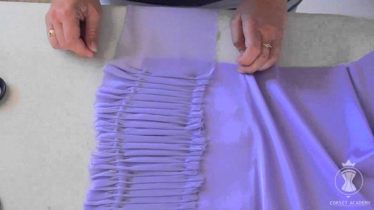 Видеоурок Драпировка на чашке. Детские нарядные платья   MONTANDO UM VESTIDO DRAPEADO E PREGAS