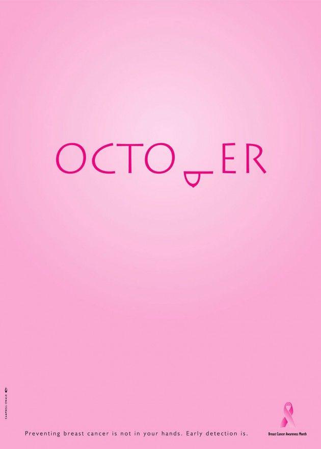 Outubro: mês da consciência do cãncer de mama