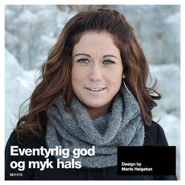 Eventyrlig god hals - Dame - Strikkeoppskrifter - Design by Marte Helgetun