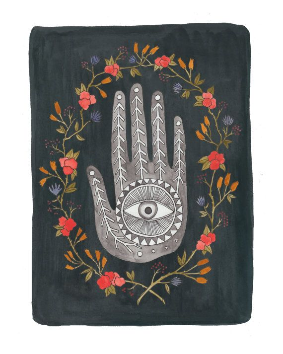 Hey, I found this really awesome Etsy listing at https://www.etsy.com/listing/216545839/the-painted-hand-digital-print-from