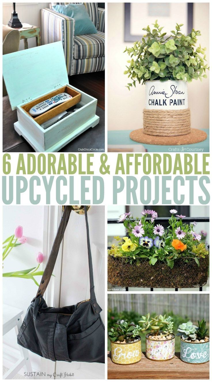 2779 best home decor ideas images on pinterest for Diy upcycling projects