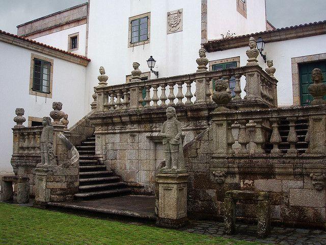 Pazo de Mariñan, Galicia.