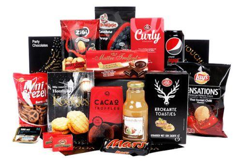 Kerstpakket 2017 Rood zwarte merken zonder alcohol (halal)
