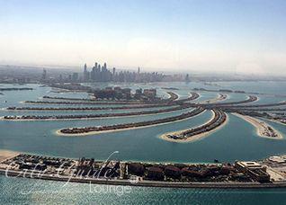 Palmeninsel Dubai, Palm Jumeirah, Weltall, Halbmond, Weltwunder