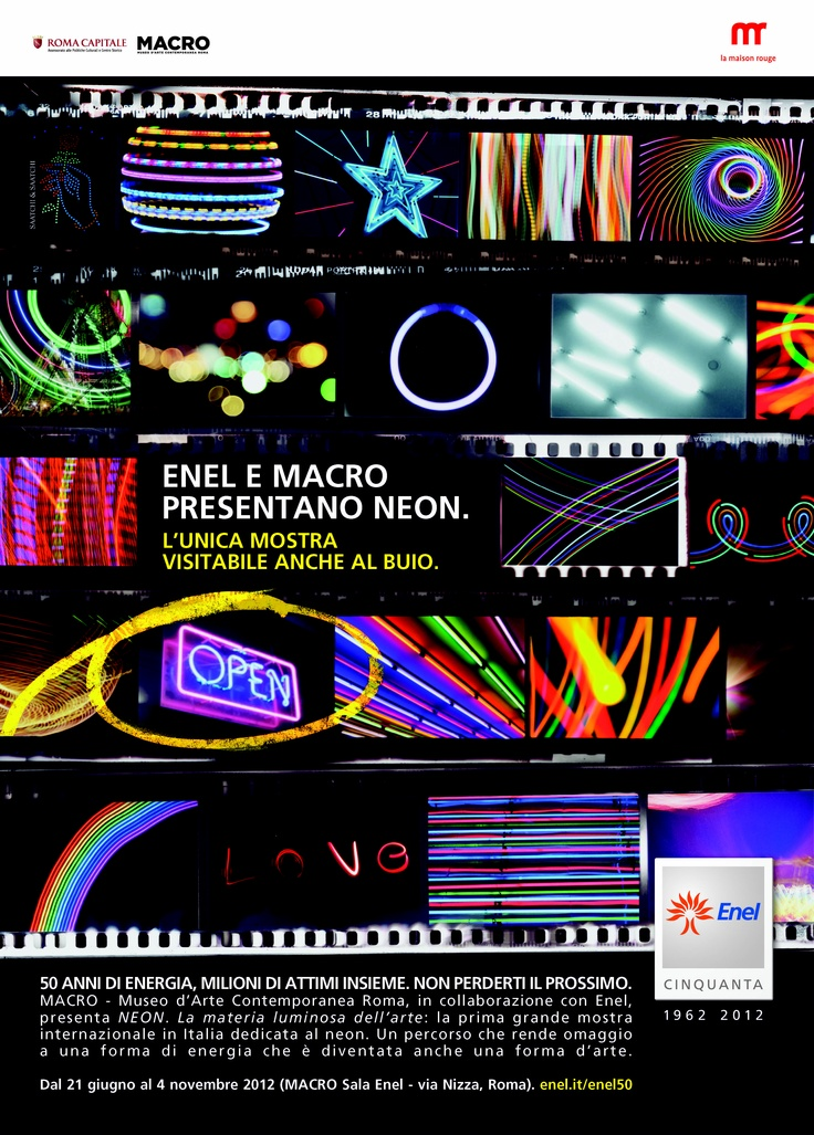 Enel e Macro presentano Neon http://50.enel.com