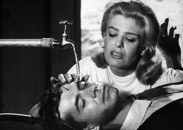 James Burke,Αθήνα, η Μελίνα Μερκούρη και ο Antony Perkins στα γυρίσματα της ταινίας ΦΑΙΔΡΑ, Αύγουστος 1961.