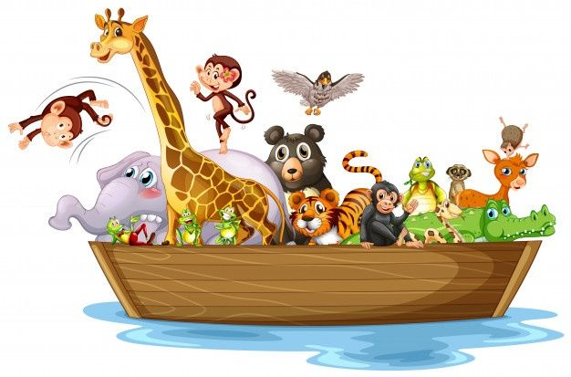 Cartoon Animal Hand Drawn Style Cute Animal Illustration Easy Drawings For Kids Animals For Kids