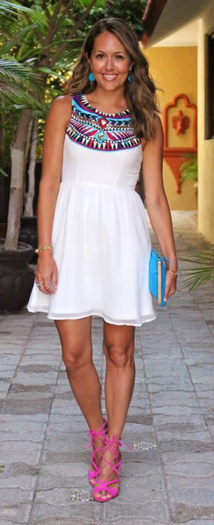 Today's Everyday Fashion: The White Dress