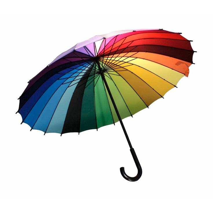 Colorwheel Umbrella.