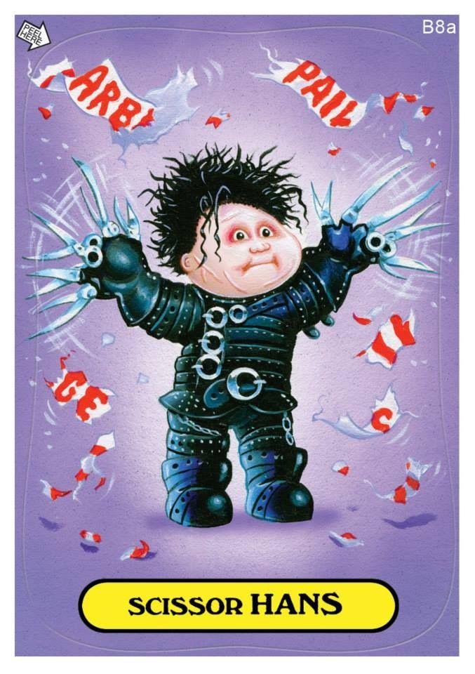 Scissor Hans - I love Garbage Pail Kids!
