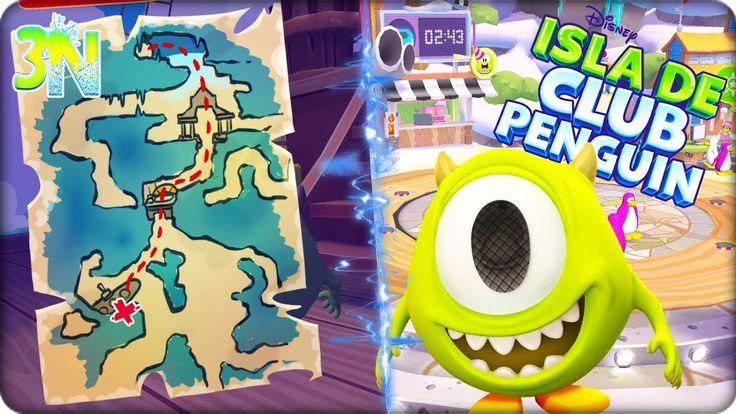 Isla de Club Penguin | Cap 1 Ep. 4 JUEGO DE OSTRAS ! Aventuras de Rockho...