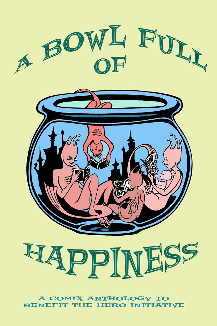 Sea monkeys tribute anthology a bowl full of happiness proceeds going to the hero