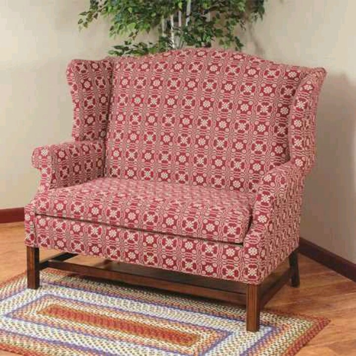 82 Best Reproduction Colonial Upholstered Furniture Images