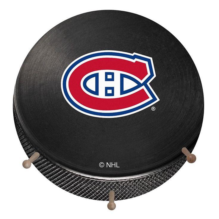 Montreal Canadiens Hockey Puck Coat Hanger, Multicolor
