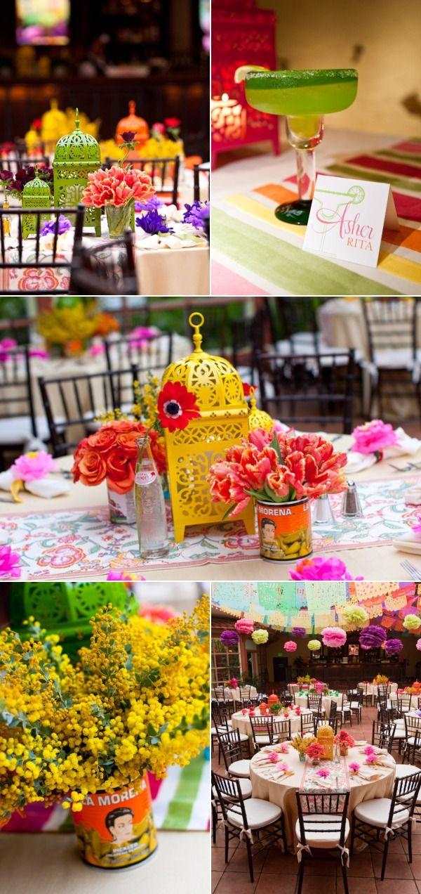 Mexican reception decorations