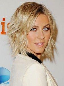Halflang blond haar 2015