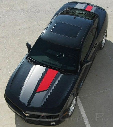 """2010-2013 and 2014-2015 Chevy Camaro """"45th Anniversary OEM Factory Style"""" SS RS Rally and Racing Stripes Kit"""