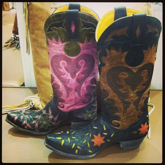 Cowgirl Boots. Old Gringo Letty. Rivertrailmercantile.com. I love the pink ones!