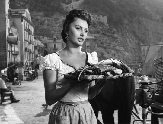 "Sophia Loren in ""Pane, amore e... """