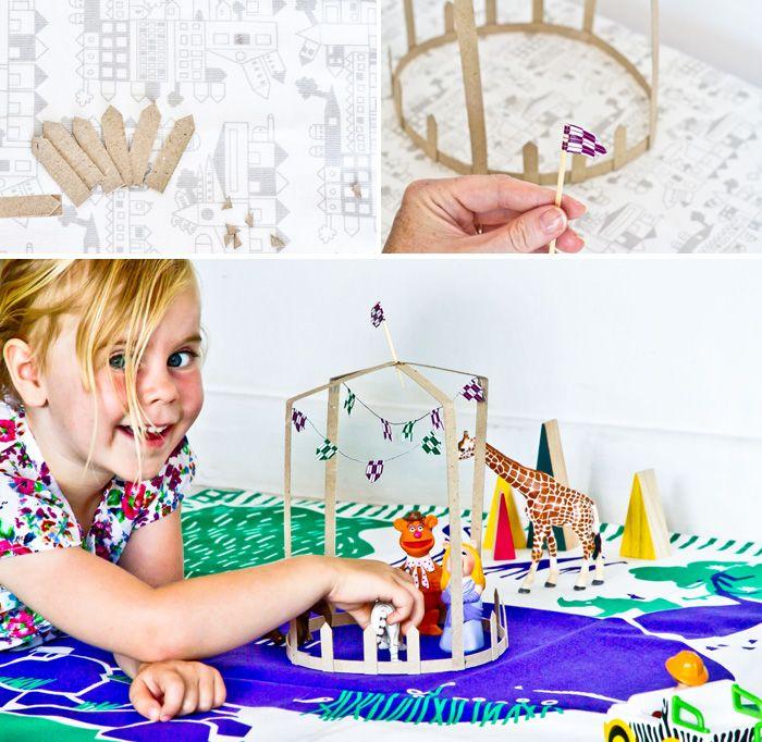 Circus #circus crafts #kids #diy