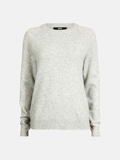 Zoe sweater | 7174499 | Grå | BikBok | Norge