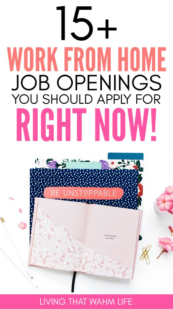 Find a work from home job here with our ultimate l…