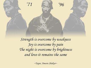 Tupac Shakur poems | Tupac Shakur