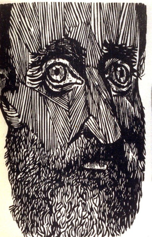 222 best gravura images on pinterest etchings printmaking and art antonio frasconi woodcut on goyu paper 185 x 133 mm x 5 in untitled close view of face seventh plate in the book a vision of thoreau fandeluxe Choice Image