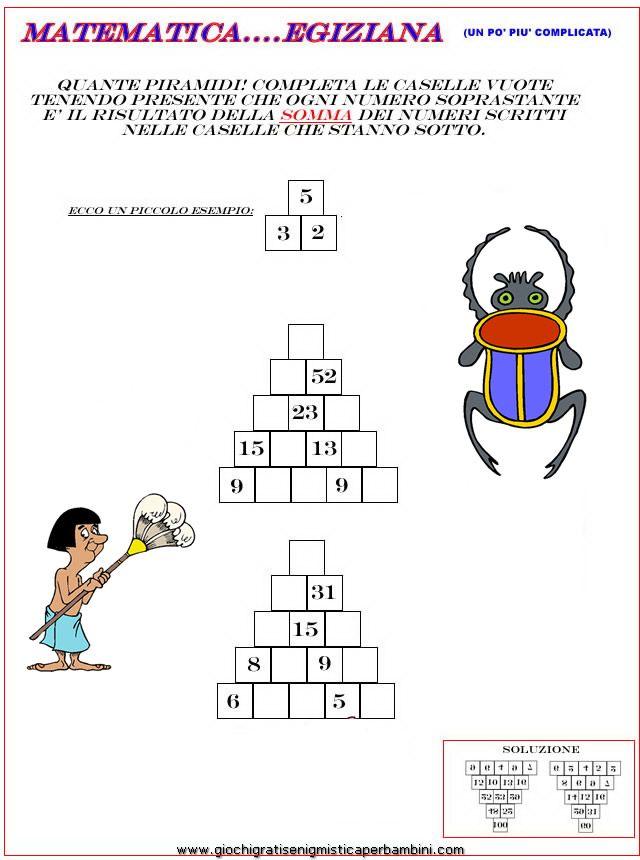 didattica_matematica_addizioni Enigmistica per bambini e ragazzi