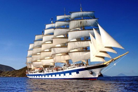 Venice to Rome: Tall Ship Cruise with Diane Rehm