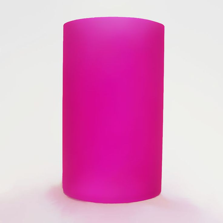 Electric Oil Warmer Replacement Cylinder - Hot Pink - FOR SALE! Hot Pink replacement glass cylinder for our electric oil warmers. Protects the bulb and determines the light color projected. Keep a spare handy!