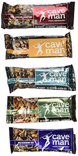 Caveman Foods Primal Performance Caveman Bar Variety (Pack of 10) (2 each of 1.4 OZ) - http://exclusivelypaleo.com/caveman-foods-primal-performance-caveman-bar-variety-pack-of-10-2-each-of-1-4-oz/