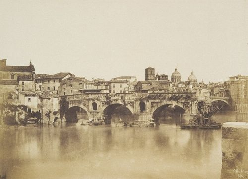 Pont ? Rome 1850