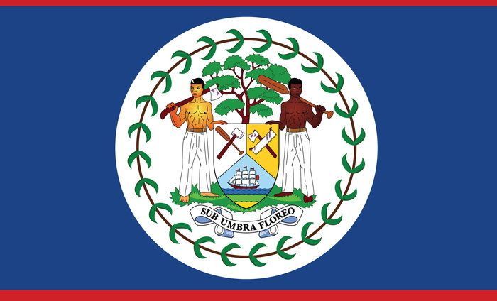 What Is The Only Country That Displays People On Its Flag Travel Trivia National Symbols Belize Cockscomb Basin Wildlife Sanctuary