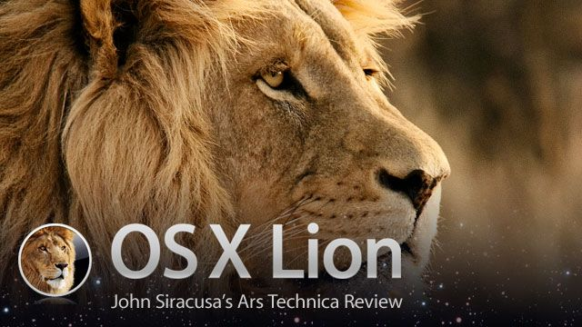 Mac OS X 10.7 Lion: the Ars Technica review