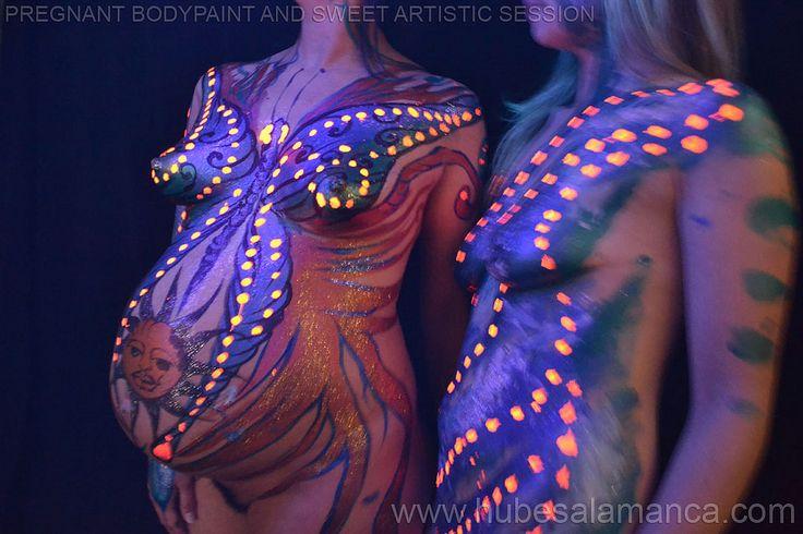mariposas cuerpos pintados - Buscar con Google