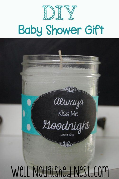 Baby Shower Gifts Essential Oils ~ Diy baby shower gifts lavender essential oil candle