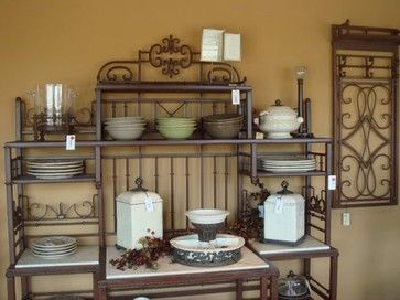 Bakers Rack Design Ideas, Pictures, Remodel, and Decor - page 3